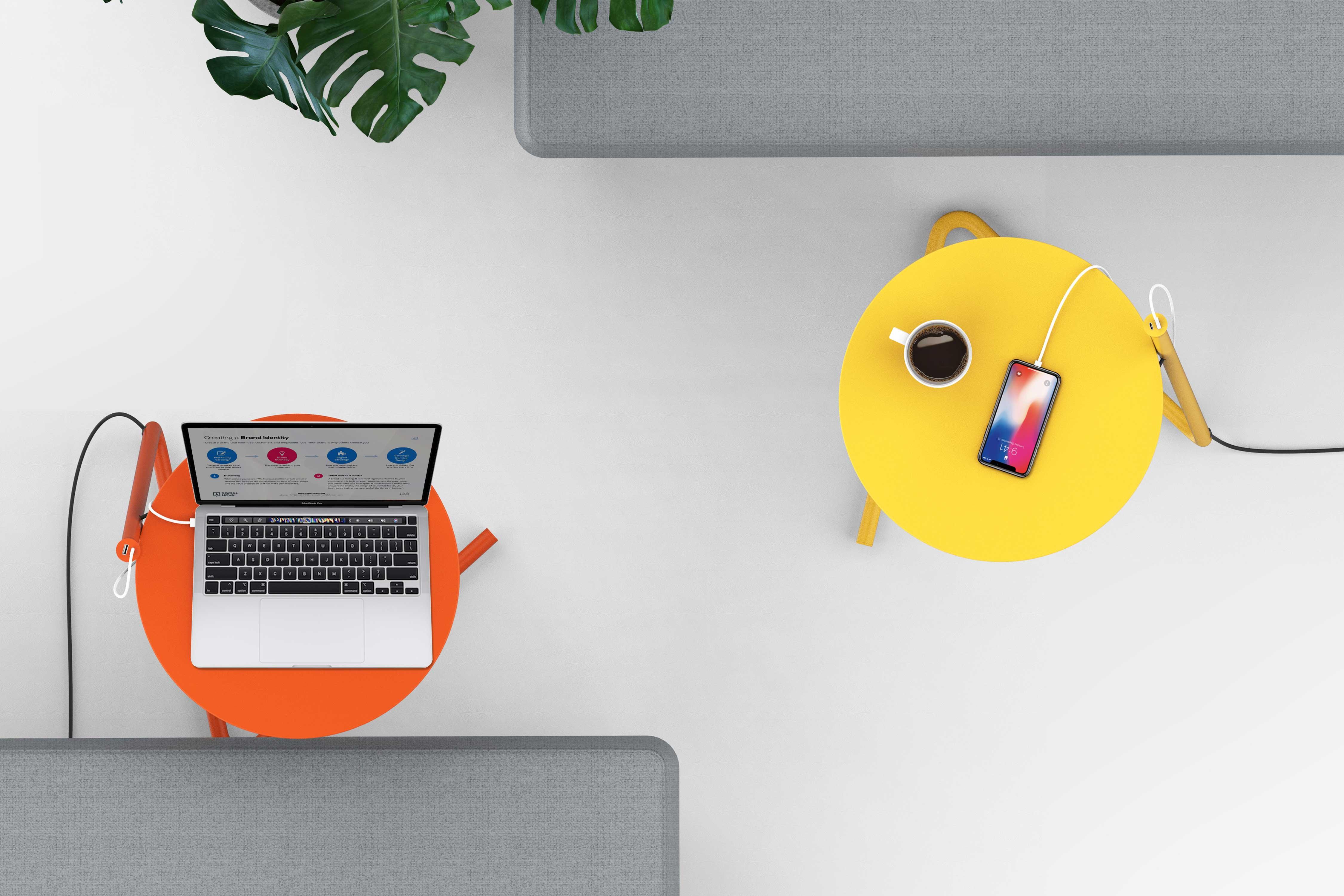 Kable Portable Side Table / Desk padstyle.com